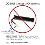 Combo: Tenergy 8.4V 1600mAh Flat NiMH Airsoft Battery Pack+ 8.4V-9.6V NiMH Smart Charger