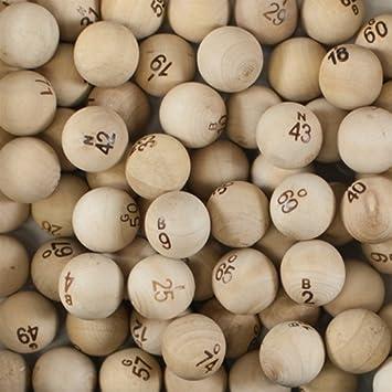 Bolas de madera Bingo by SmallToys  Amazon.es  Juguetes y juegos 0e2272ce49668