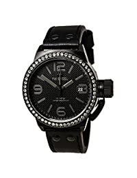 TW Steel Canteen 45mm Chronograph Black Dial Black PVD Unisex Watch TW912