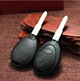 discovery ii - 2 PCS Land Rover Discovery Replacement Key Fob Shell Case Cover Keyless Entry Remote Blank Key 1999 2000 2001 2002 2003 2004