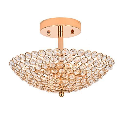 Gold chandelier ceiling light