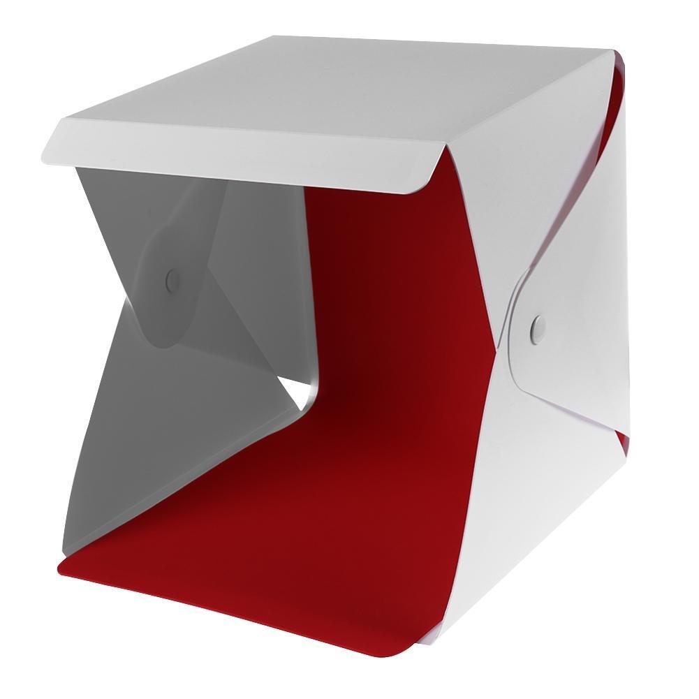 UNIhappy Folding Photography Studio Box Lightbox Softbox Adjustable 35 LED Light Box