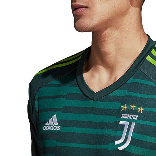 new product 78b41 30757 adidas 2018-2019 Juventus Home Goalkeeper Shirt - Import It All