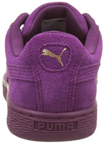 Ii Donna Da Purple Purple Ginnastica Suede Basse dark dark Viola Puma Heart Scarpe Satin RwSw8tq