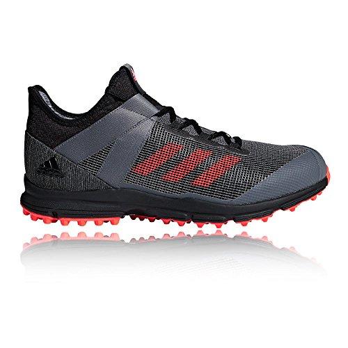 adidas Zone DOX Hockey Shoes - SS19-8.5 M US Women / 7.5 M US Men - Black