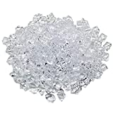 Aketek Translucent Clear Acrylic Ice Rocks for Vase Fillers or Table Scatters