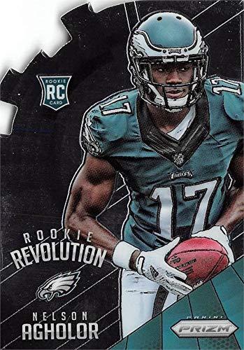 Nelson Agholor football card rookie (Philadelphia Eagles) 2015 Panini Prizm Rookie Revolution Die Cut #RR5