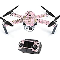 MightySkins Protective Vinyl Skin Decal for DJI Mavic Pro Quadcopter Drone wrap cover sticker skins TrueTimberConceal Pink