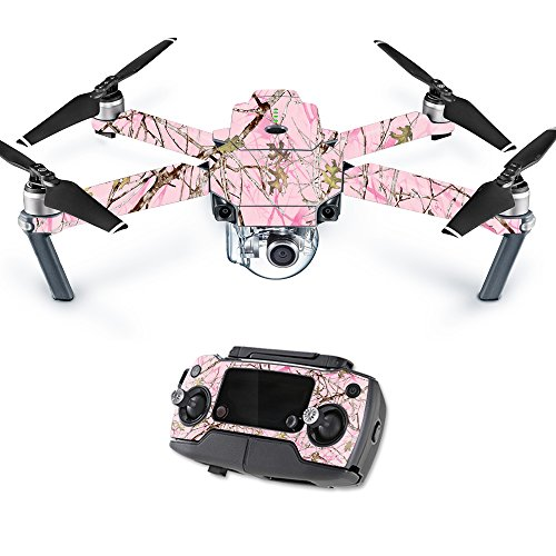 MightySkins Skin for DJI Mavic Pro Quadcopter Drone - Conceal Pink | Protective, Durable, and Unique Vinyl Decal wrap Cover | Easy to Apply, Remove, and Change Styles | Made in The USA