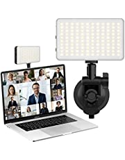 Laptop Light for Video Conference, Notebook Computer Suction Mount Lighting Kits for Remote Working Zoom Calls Self Broadcasting Live Streaming Compatible with MacBook ASUS Lenovo Acer HP