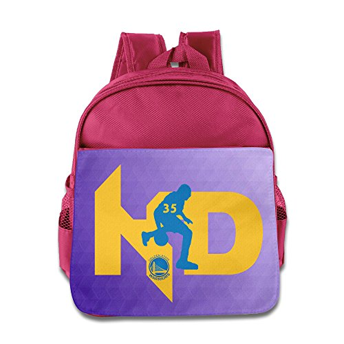 Price comparison product image D2 Cute Basketball Player 35 Durant School Bag For 3-6 Years Old Kids Pink Size One Size