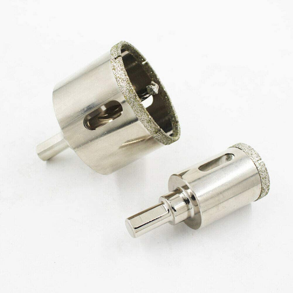 Jerilla Foret de Diamant avec Foret Centreur 25mm Trou Scie Cloche Tr/épan de Carottage Outils de Coupe pour Verre//C/éramique//Porcelaine//Marbre//Carrelage//Granite