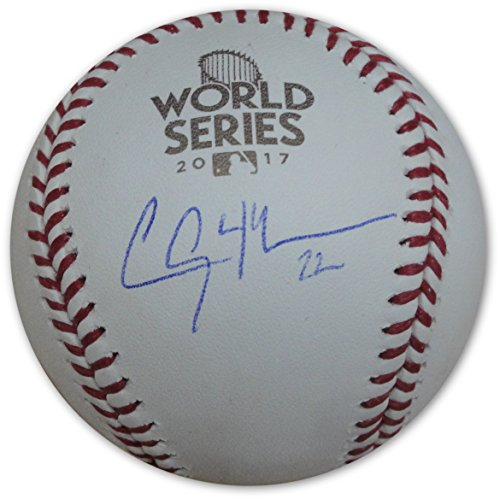 Clayton Kershaw Hand Signed Autographed 2017 World Series Baseball MLB Holo