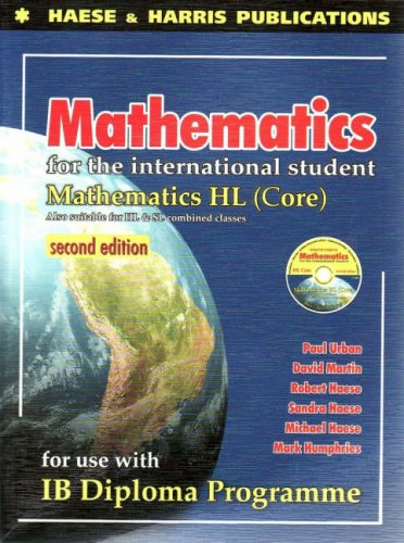 Hl Core - Mathematics for the International Student: IB Diploma HL Core, 2nd Edition