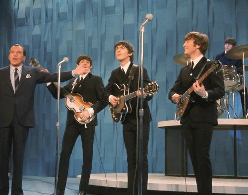 The Beatles Ed Sullivan Appearance 14 X 11