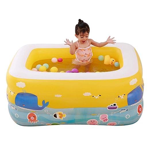 Piscina inflable para niños, piscina inflable acuática en el ...