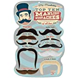 Mr. Moustachio's Top 10 Manliest Mustaches of All Time Assortment by Mr. Moustachio