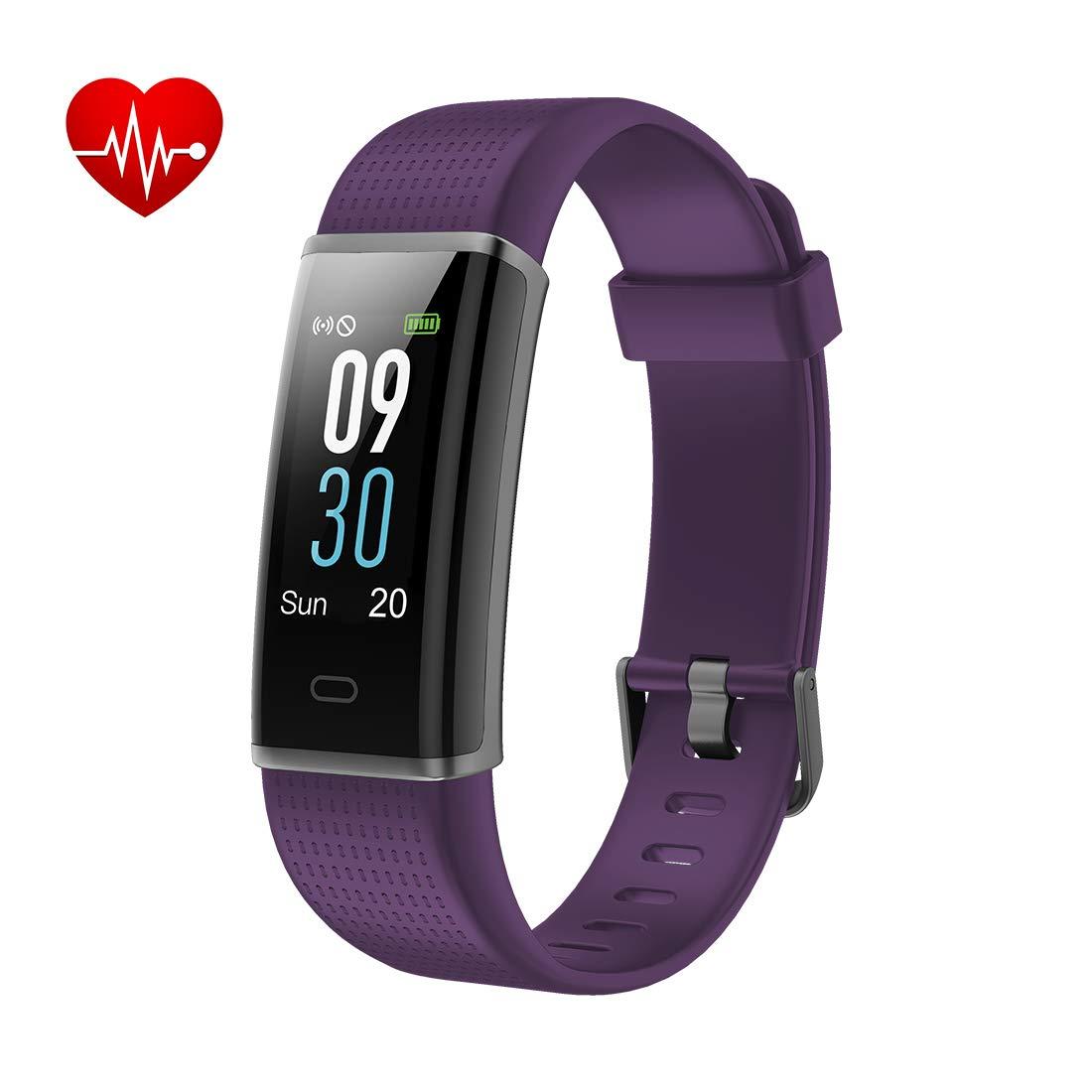 Yuanguo Pulsera de Actividad Monitores de Actividad IP68 Monitor de Ritmo Cardíaco a Prueba de Agua Podómetro Monitor de Sueño Contador de Calorías Reloj ...