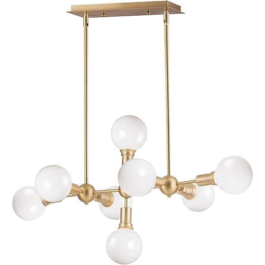 Amazon.com: Island Lighting - Lámpara de techo (8 unidades ...