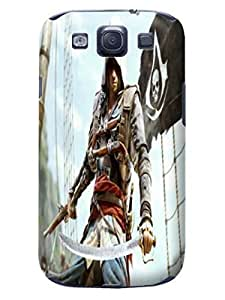 2014 New Waterproof Shockproof Dirtproof Snowproof fashionable PC Cool Assassin's Creed Protection Case for Samsung Galaxy s3