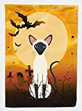 Caroline's Treasures BB4454GF Garden Size Halloween Siamese Cat Flag, Multicolor, Small Review