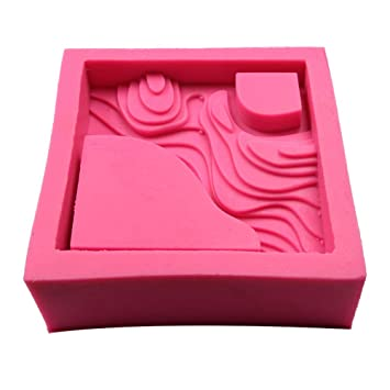 Maceteros Moldes silicona, moldes de yeso de cemento, artesanías, adornos, moldes: Amazon.es: Hogar