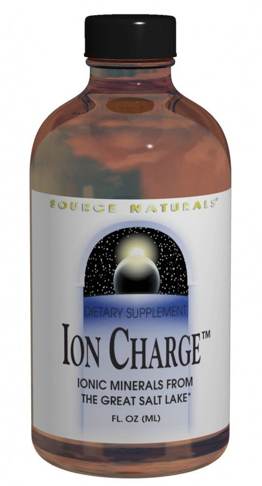 Source Naturals Ion Charge Liquid Trace Minerals, 8 Ounce