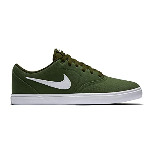 57819ae536d4 Nike SB Check Solarsoft Canvas Green  Buy Online at Low Prices in India -  Amazon.in