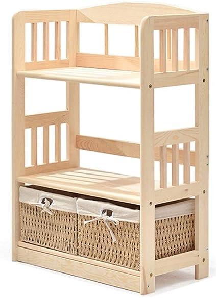 Estanterías y almacenaje Estantería de madera maciza, suelo ...