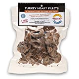 Fresh Is Best Freeze-Dried Raw Turkey Heart Fillets Treats For Dogs And Cats, 3 Oz