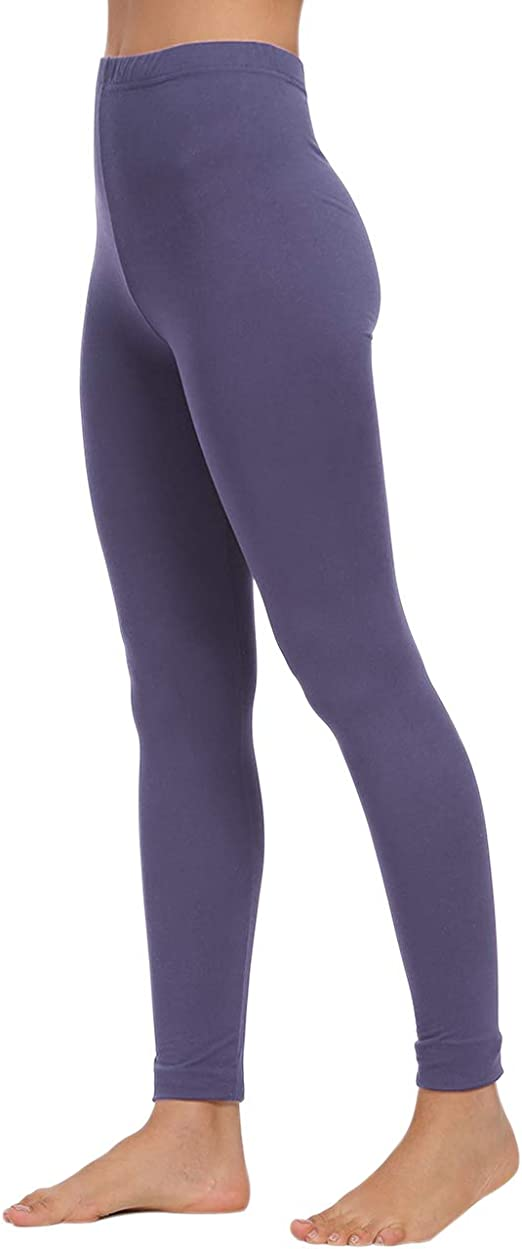AUSELILY Damen High Waist Soft Leggings Bequeme schlanke Leggings Hose.