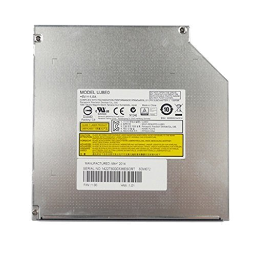 Optical Drives Uj8e0 12.7mm Sata Panasonic Laptop Slim Optical Drive Dvd Rw--lp237