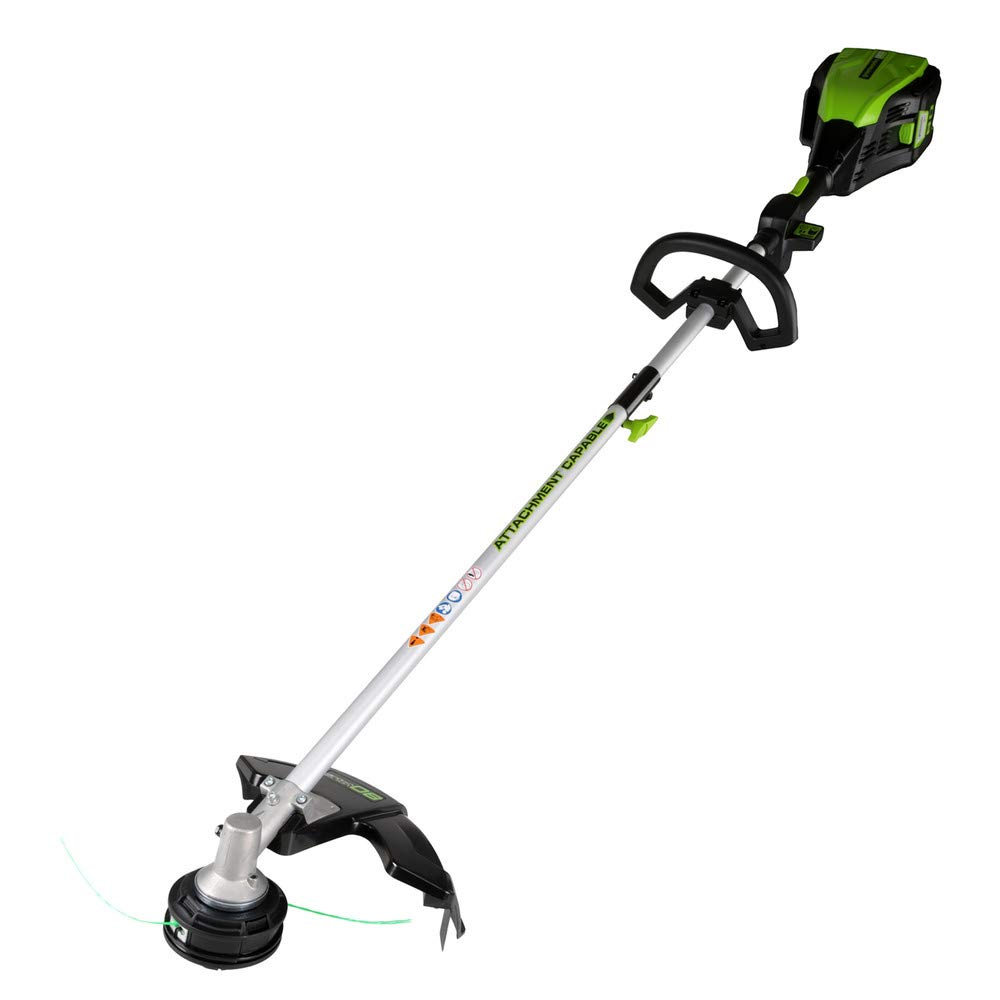 Greenworks PRO 16-Inch 80V Cordless String Trimmer (Attachment Capable), Battery Not Included GST80320 by Greenworks