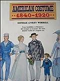 American Costume, Estelle A. Worrell, 0811701069