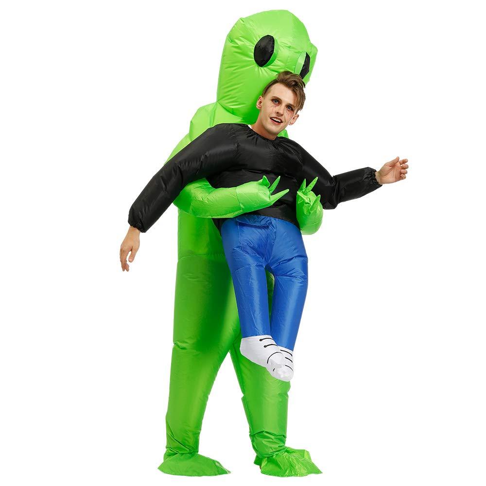 FENWOOH Alien Inflatable Costumes Fancy Costume Halloween Cosplay Fantasy Costume Adult//Kids