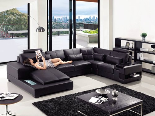 black leather sectionals sectional sofa