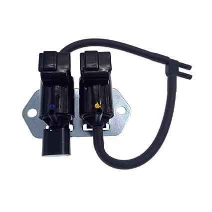 Amazon.com: NANA-AUTO Vacuum Switch Solenoid Valve Freewheel Clutch Solenoid Valve For Mitsubishi Pajero L200 L300 V43 V44 V45 K74T V73 V75 MR430381 ...