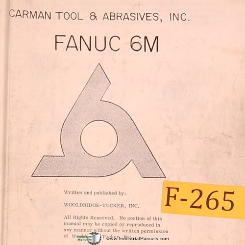 fanuc 6m cnc control operations manual fanuc amazon com books rh amazon com fanuc 6m parameter manual fanuc system 6m maintenance manual pdf