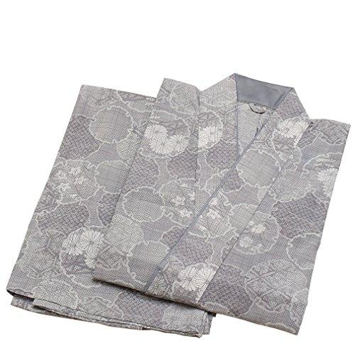 蜂適格できた和ごころきもの屋 夏物【紗 二部式着物】洗える着物【Mサイズ/Lサイズ】制服 小紋 普段着 二部式 着物 nibu332