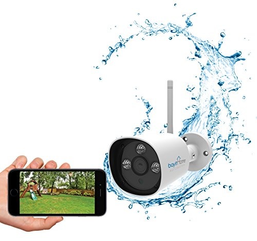 Bayit Outdoor Cam Weatherproof HD 720P WiFi Camera for Outdo