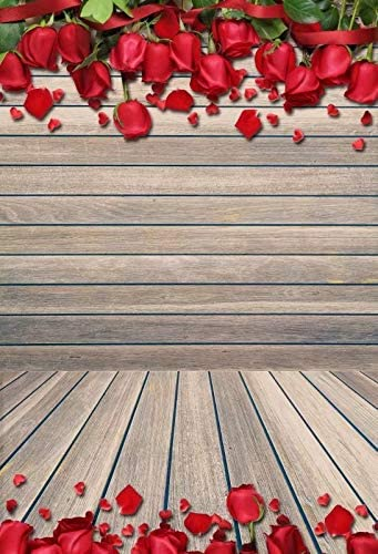 Vintage Rose Wooden Solid Wall Self Portrait Wedding Baby Photography Background Custom Photography Studio Photography Background