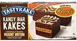Tastykake Cream Filled Kandy Bar Kakes with Reeses Peanut Butter - 5 CT