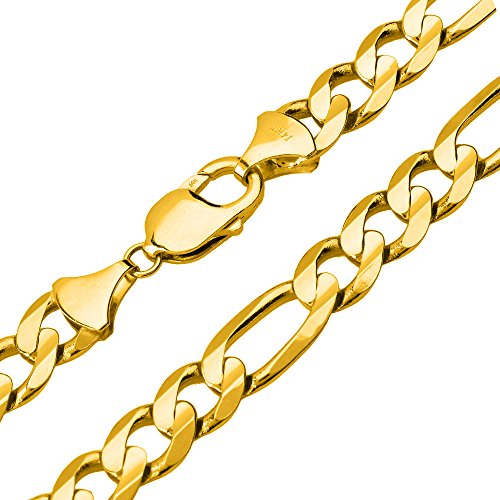 Solid 14K Yellow Gold 10mm Fig