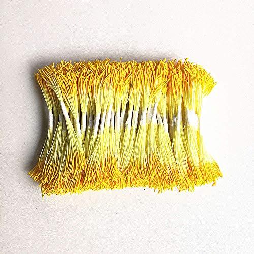 (LTTA Artificial & Dried Flowers - Artificial Flowers Peony Lotus Flower Stamens 2 Bundles Stems Handmade Flowers Pollens Stamens Cherry Blossom,Artificial Stamen 1 PCs )