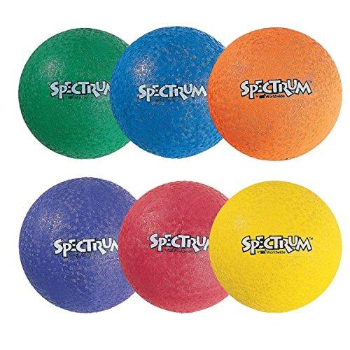 S&S Worldwide 2-Ply Spectrum Playground Ball, 13
