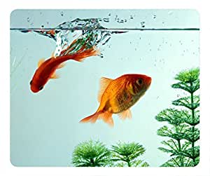 Goldfish oblong POP mouse pad by Cases & Mousepads