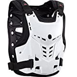 WINGOFFLY Scientific Design Knight Style PP Soft Motocycle Armor Chest Protector(White)