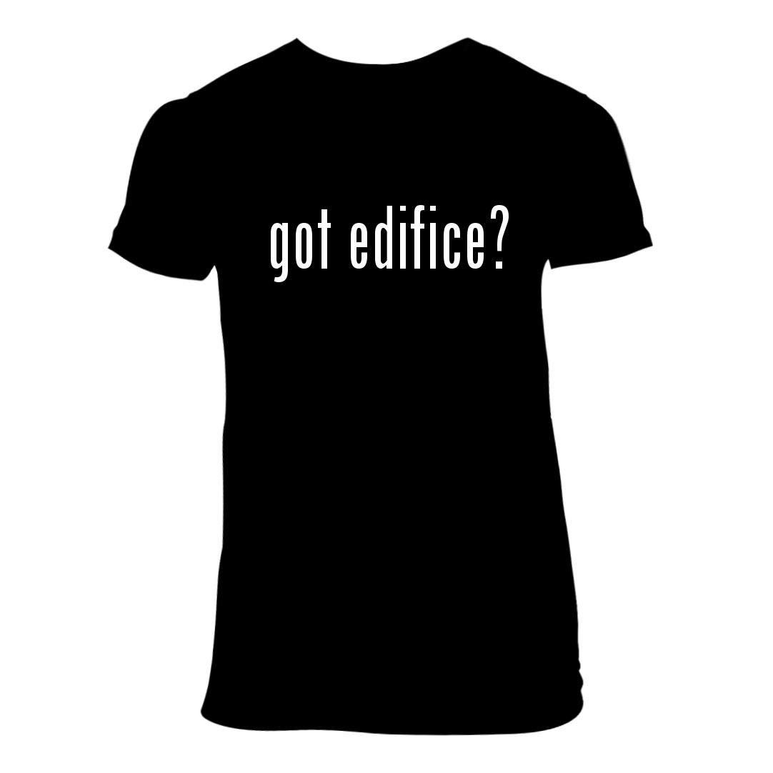got Edifice? - A Nice Junior Cut Women's Short Sleeve T-Shirt, Black, Large
