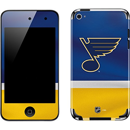 NHL St. Louis Blues iPod Touch (4th Gen) Skin - St. Louis Blues Jersey Vinyl Decal Skin For Your iPod Touch (4th - Skin Ipod Blues Louis