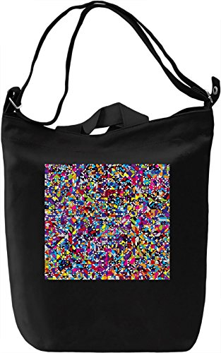 Mosaic Graphic Texture Borsa Giornaliera Canvas Canvas Day Bag| 100% Premium Cotton Canvas| DTG Printing|